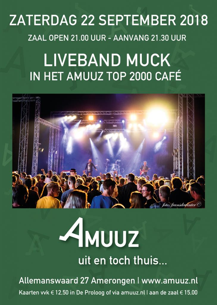 Liveband Muck speelt top2000